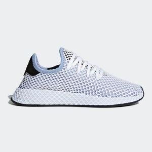 adidas deerupt runner light blue sneaker nwt